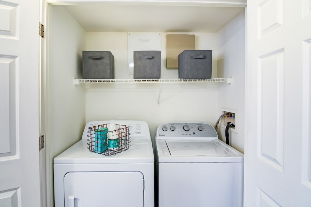 Washer and Dryer at Apartments in Stamford, Connecticut