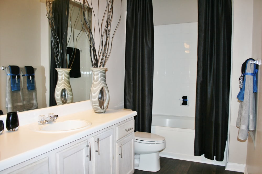 Bathroom at Preston View in Morrisville, North Carolina