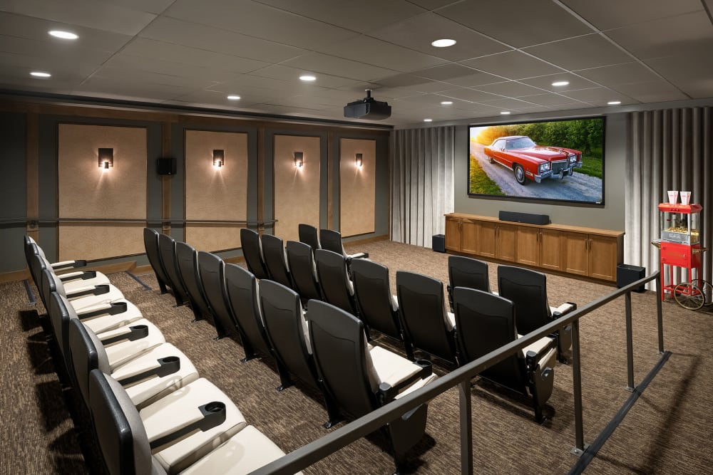 state-of-the-art movie theatre at The Springs at Bozeman in Bozeman, Montana