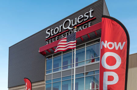 Signage at StorQuest Self Storage in Arvada, Colorado