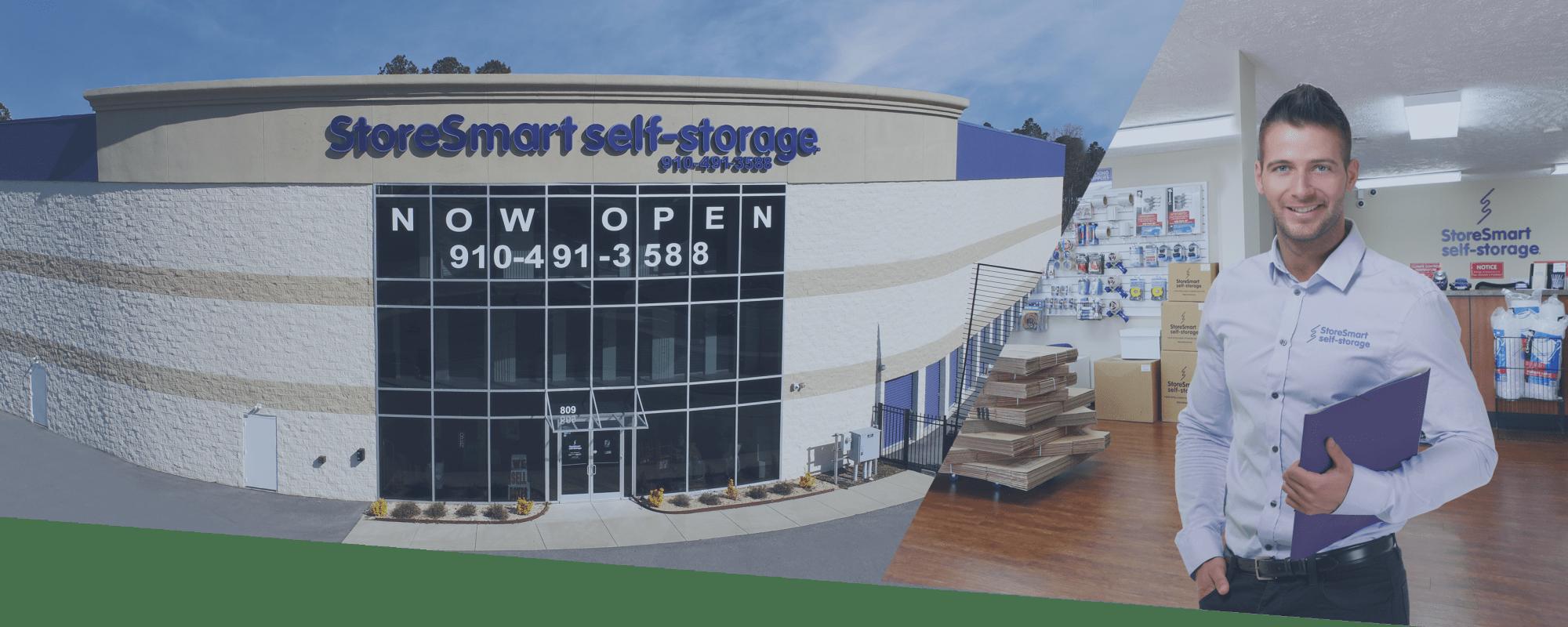 Self storage at StoreSmart Self-Storage in Spring Lake, North Carolina