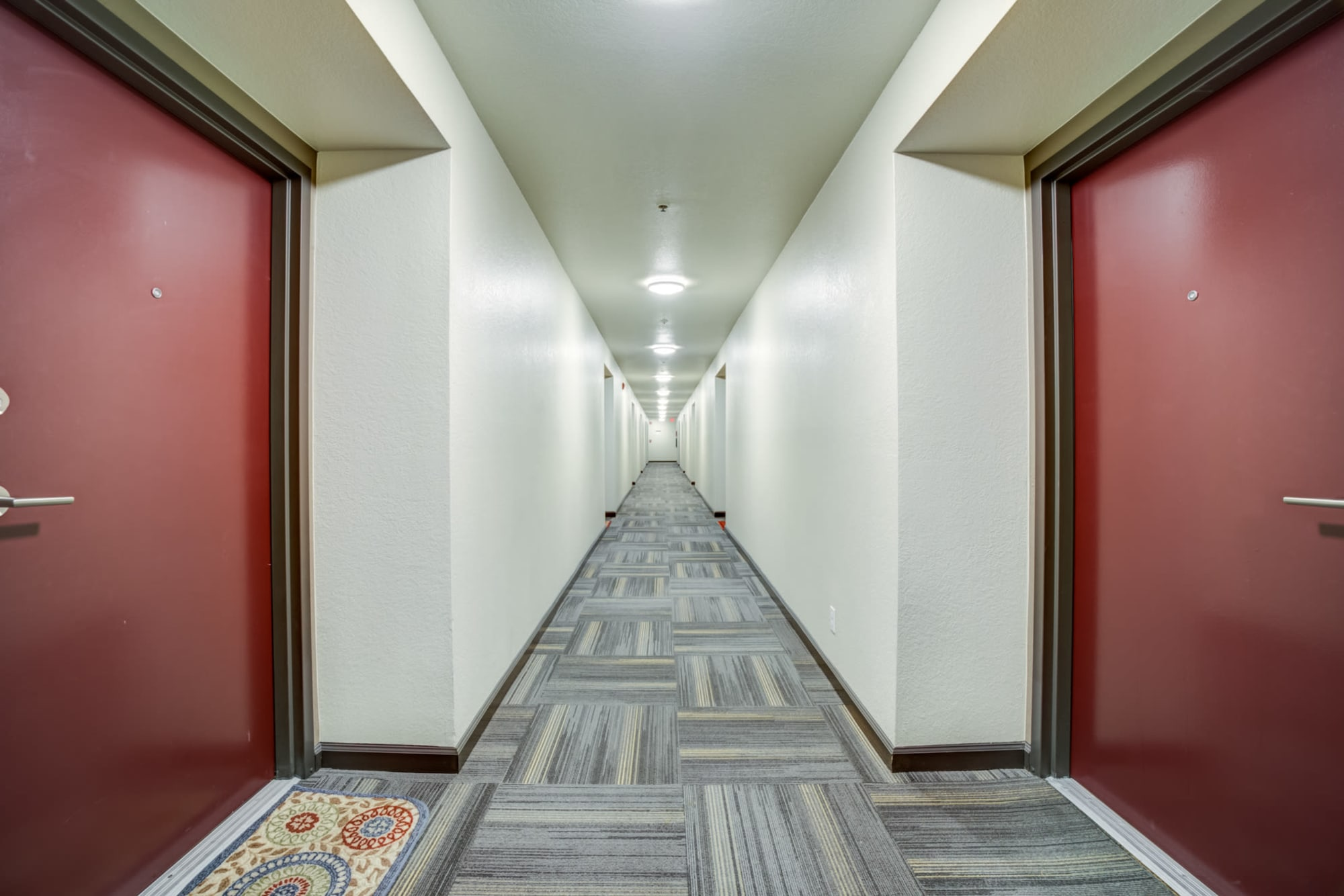 Hallway at Serramonte Ridge Apartment Homes