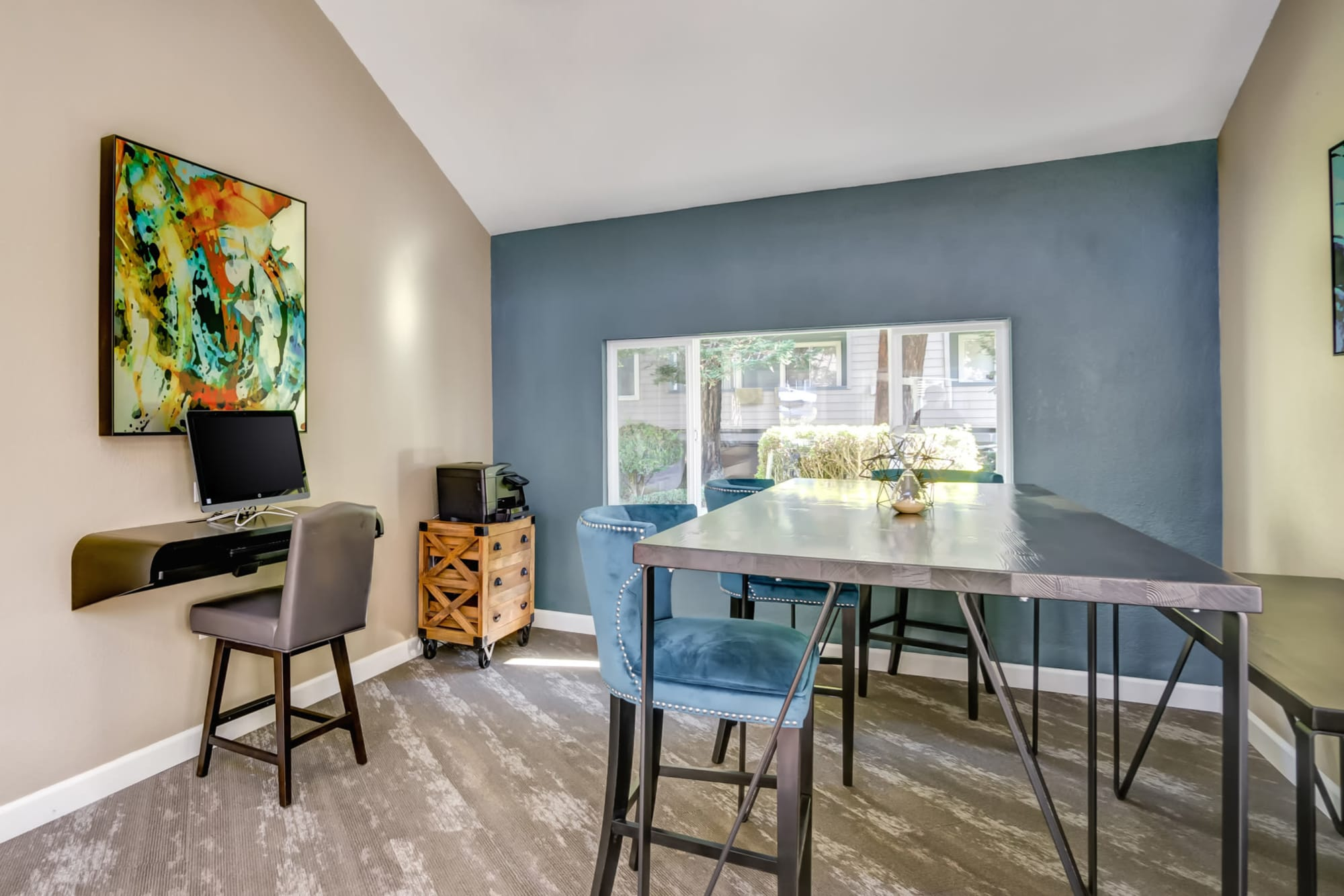 Business Center at Serramonte Ridge Apartment Homes
