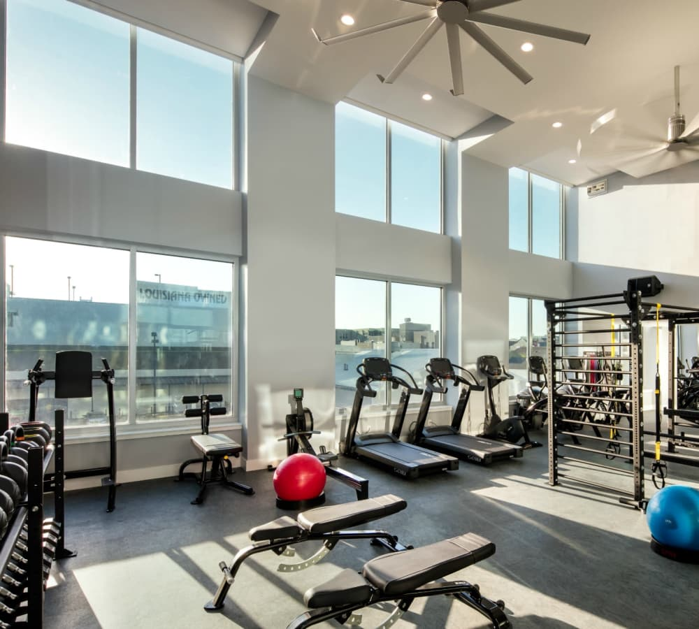 Community amenities at The Beacon at South Market in New Orleans, Louisiana