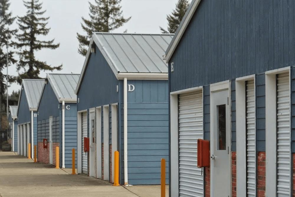 Self storage units at Capitol City Storage in Olympia, Washington