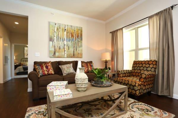 Updated Living room at Longhorn Crossing