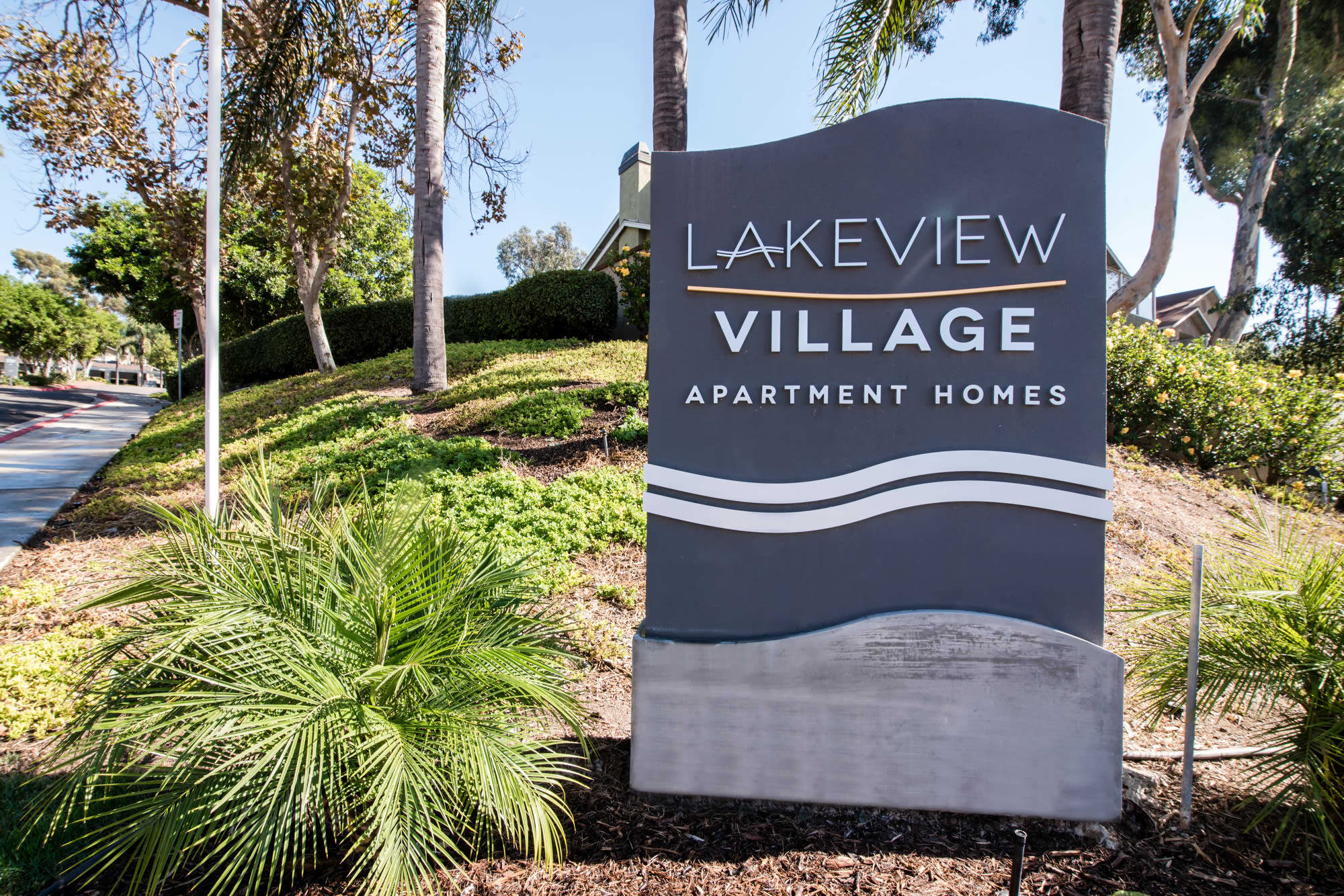 Sign Apartments at Lakeview Village Apartments