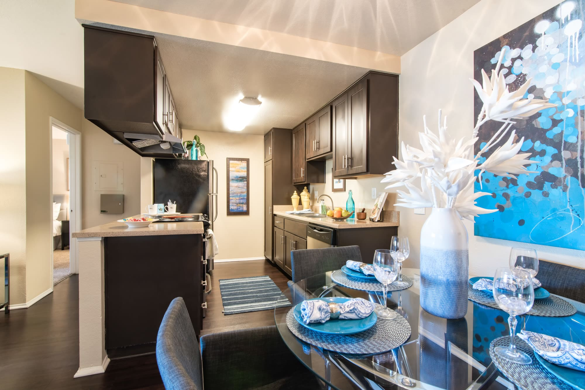 Well Decorated Apartment Interior at Terra Nova Villas in Chula Vista, CA