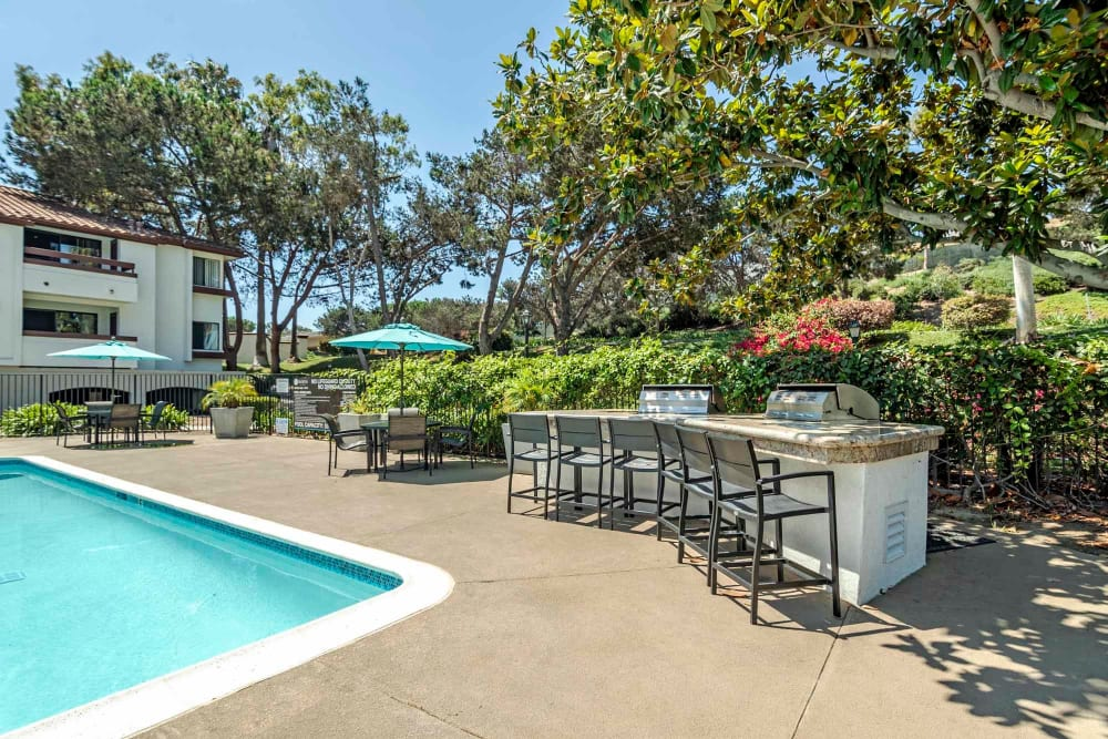 Our Apartments in San Diego, California offer a Swimming Pool