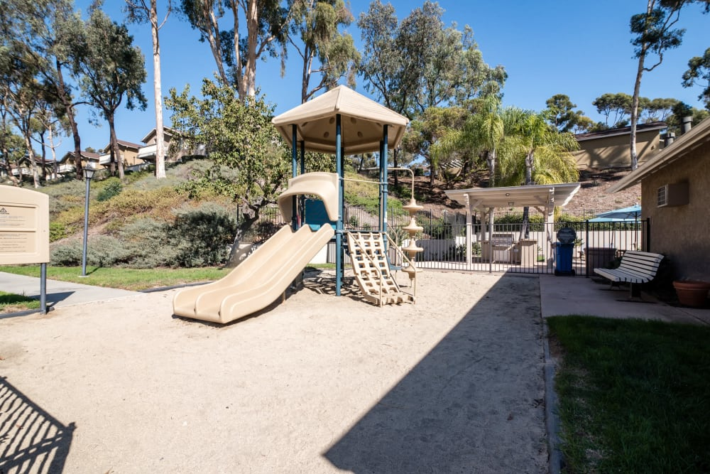 A playground for your kids at Lakeview Village Apartments in Spring Valley, California