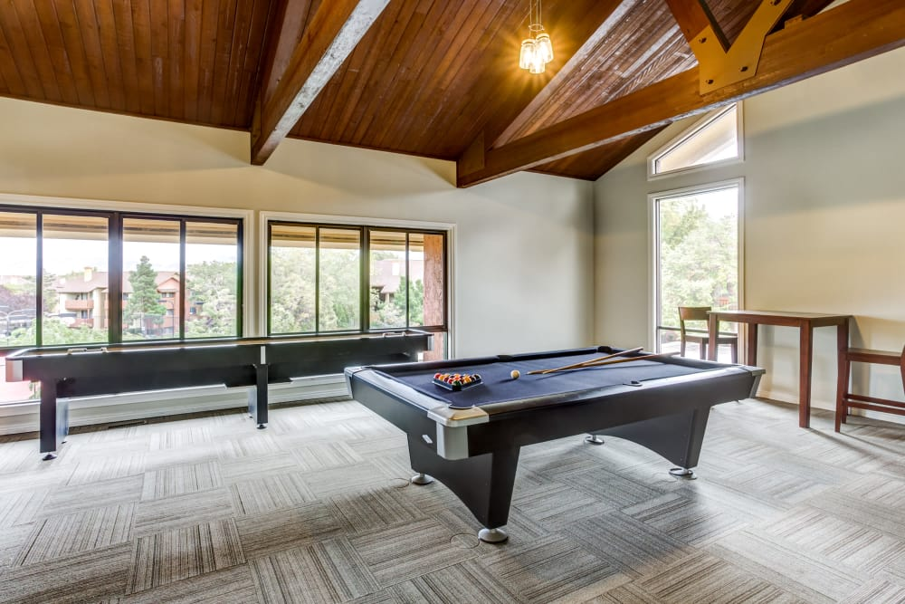 Billiard at Springs of Country Woods Apartments