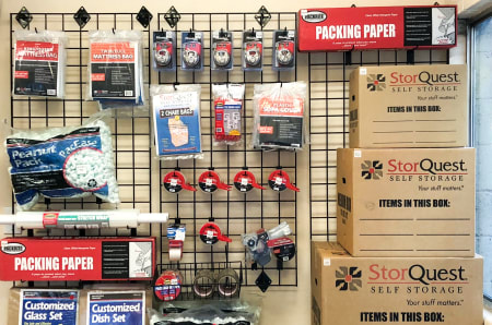 Merchandise Available at StorQuest Express - Self Service Storage in Sacramento, California