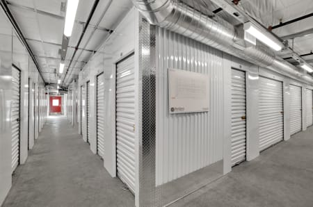 Indoor climate-controlled units at StorQuest Self Storage in Bermuda Dunes, California