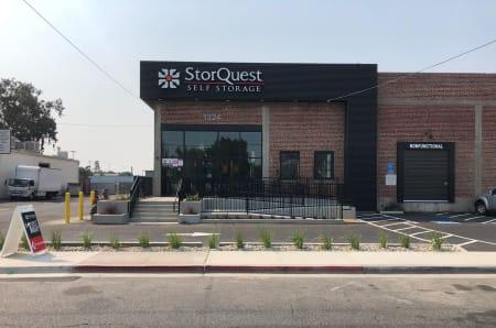 Exterior photo of StorQuest Self Storage in Modesto, California