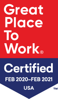 Great place to work logo.