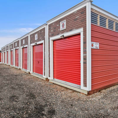 Climate-controlled units at Firehouse Self Storage in Loveland, Colorado