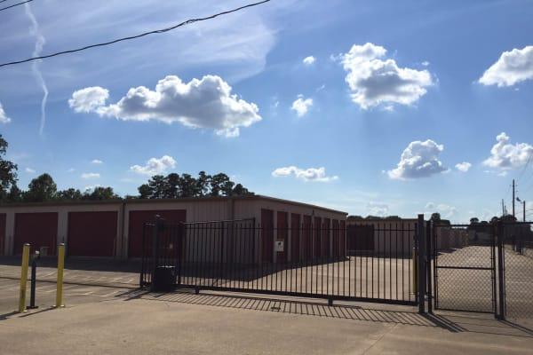 Gate at Lockaway Storage in Texarkana, Texas