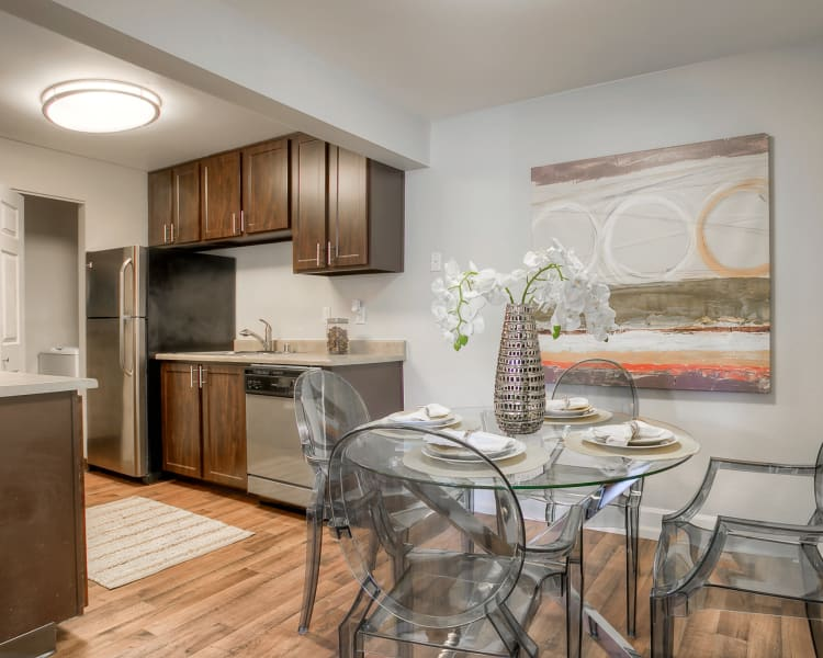 Click to see our floor plans at Newport Crossing Apartments in Newcastle, Washington