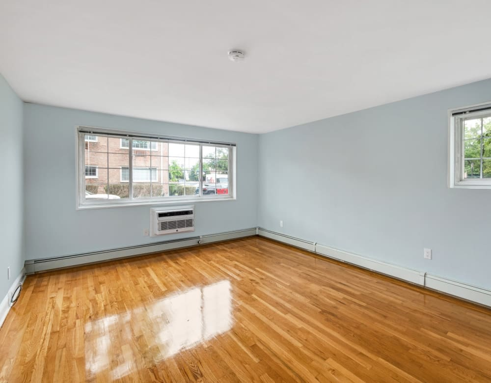 Hardwood flooring at Eagle Rock Apartments at Carle Place in Carle Place, New York