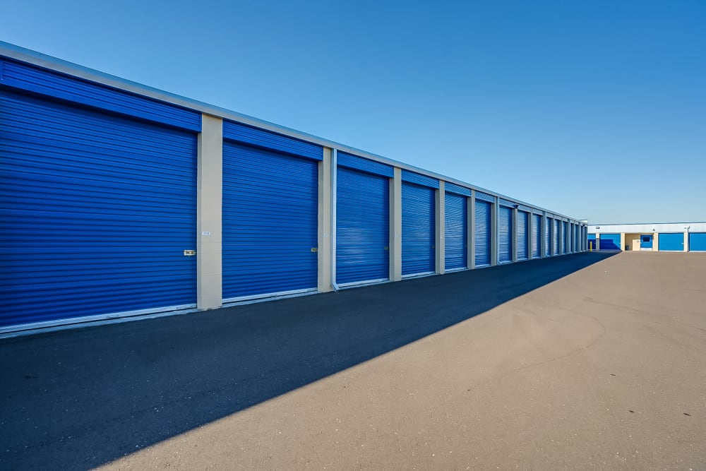 Exterior units at Red Mountain Self Storage & RV in Mesa, Arizona