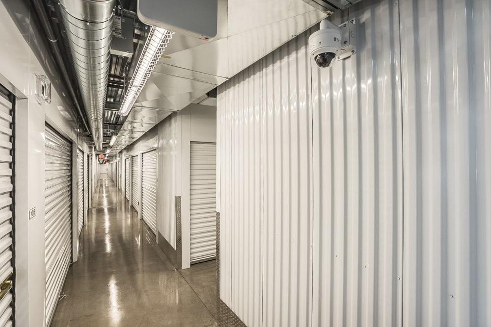 Interior hallway at Red Mountain Self Storage & RV in Mesa, Arizona.
