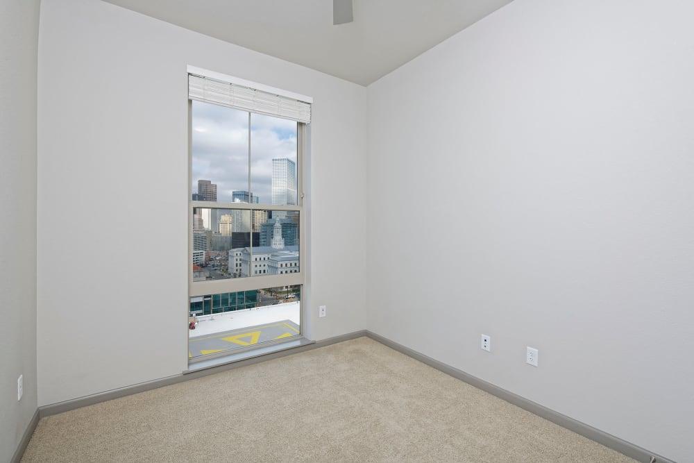 Bedroom at Civic Lofts | Luxury Apartments in Denver, Colorado