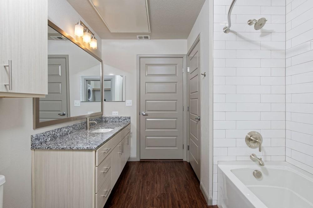 Bathroom at Civic Lofts | Apartments in Downtown Denver, Colorado