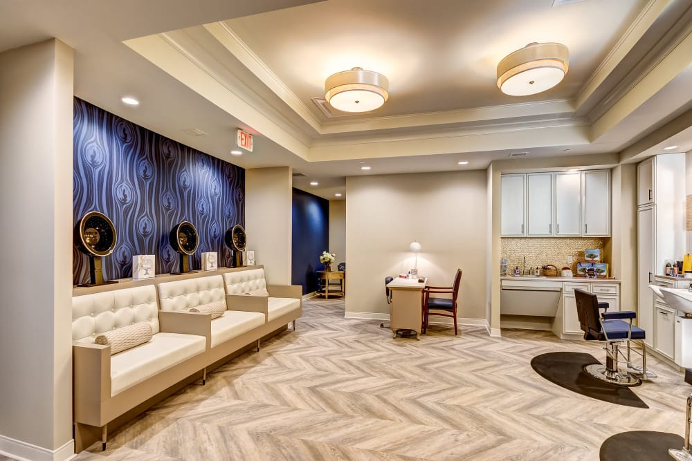 Spa and salon at Maplewood at Twinsburg in Twinsburg, Ohio