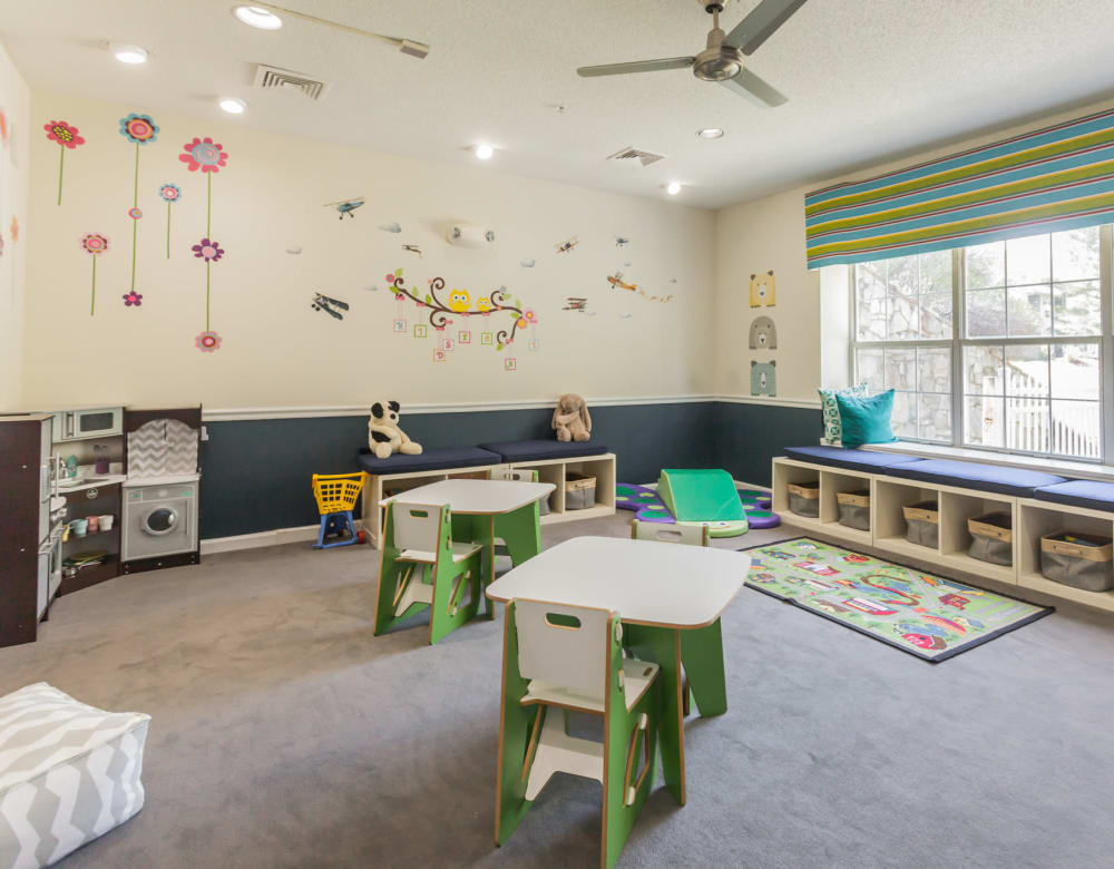 Kids clubhouse area at Vista Point Apartments in Wappingers Falls, New York