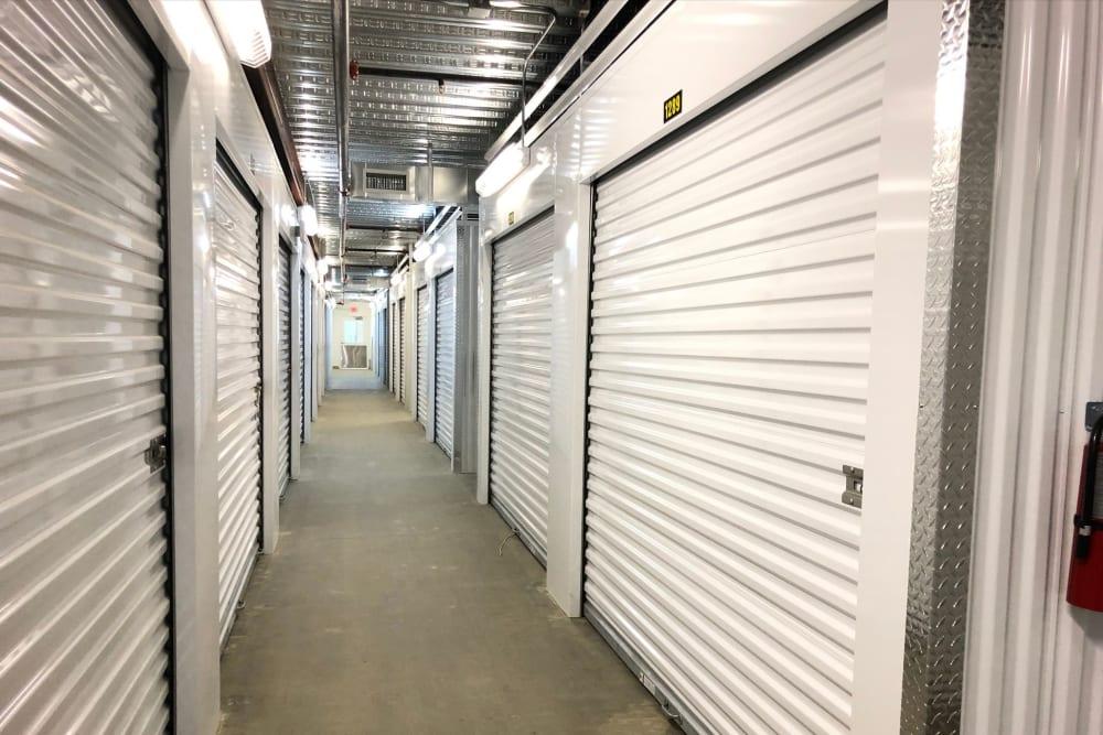 Interior storage units of My Neighborhood Storage Center in Raleigh, North Carolina