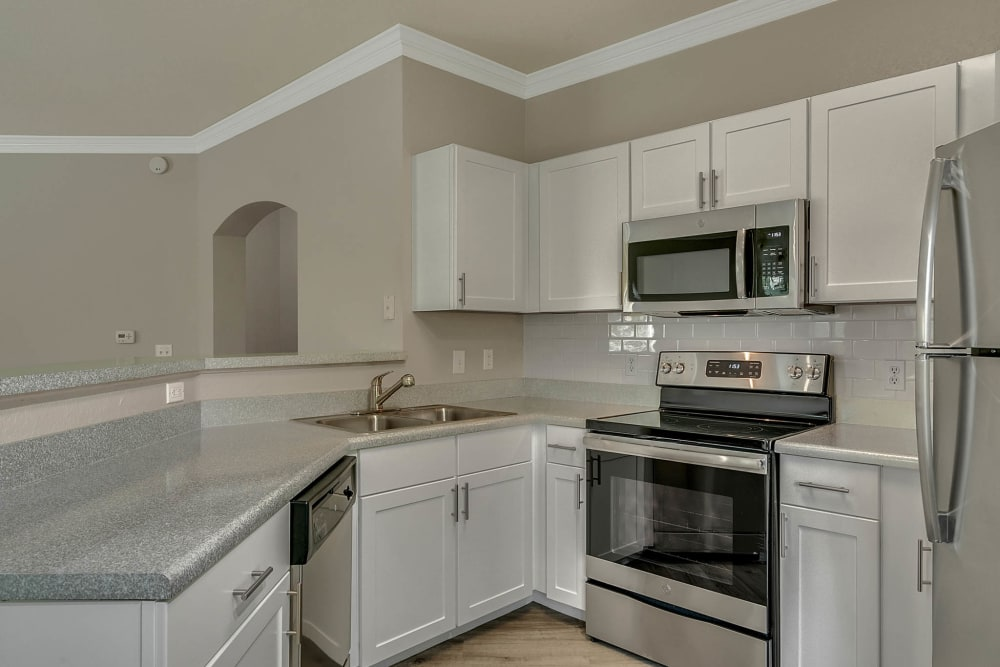 Spacious chef-inspired kitchen at Palms at World Gateway in Orlando, Florida