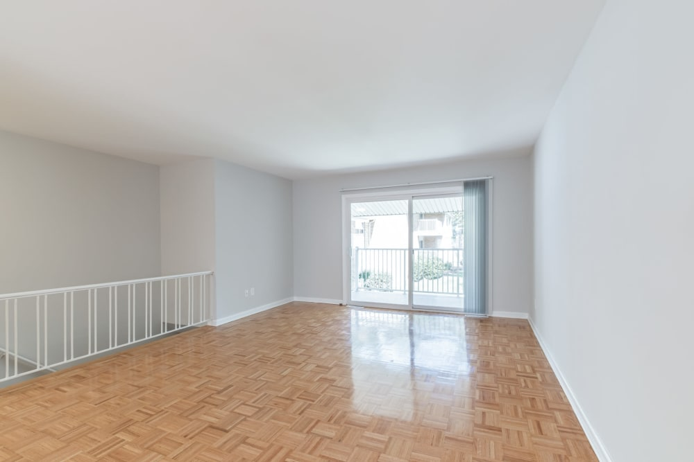 Spacious rooms at Eagle Rock Apartments at North Plainfield in North Plainfield, New Jersey