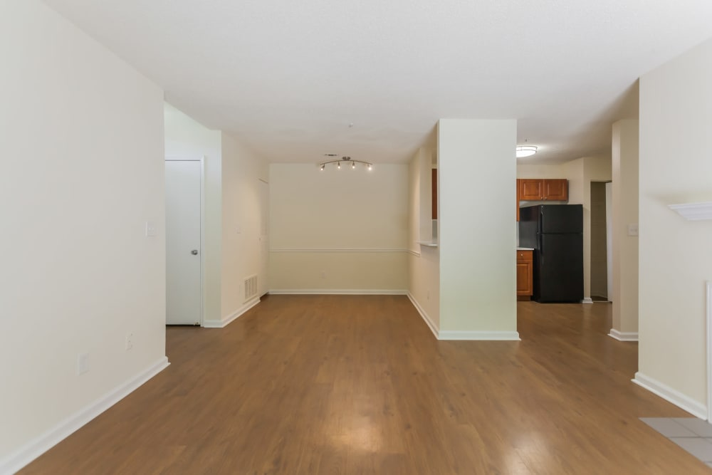 Spacious living room at Vista Point Apartments in Wappingers Falls, New York