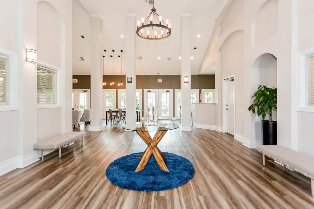 Our apartments in Katy, Texas showcase a beautiful clubhouse
