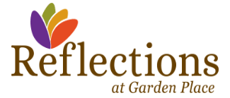Reflections at Garden Place Logo