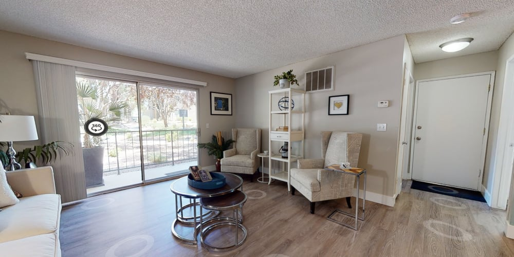 View a virtual tour of our 2 bedroom apartment homes at Mountain Vista in Victorville, California
