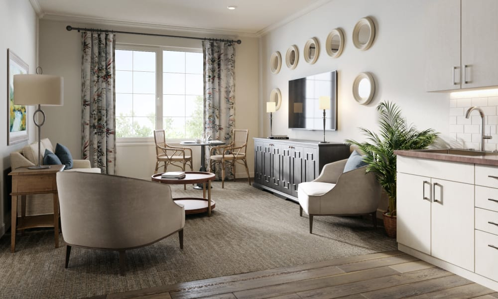 Bedroom at Magnolia Place in Bakersfield, California