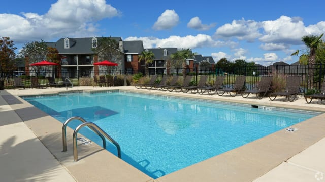 Swimming pool at Peppertree in Montgomery, AL