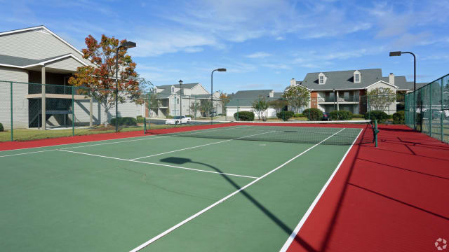 Tennis courts at Peppertree in Montgomery, AL