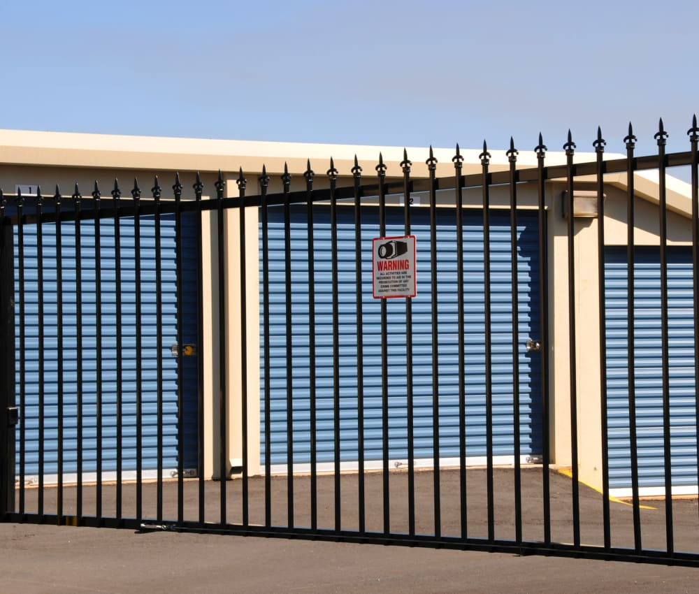 Gated entrance at Storage OK in Tulsa, Oklahoma
