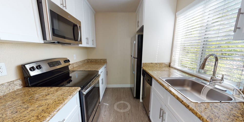 Take a virtual tour of a 2 bedroom home at Valley Plaza Villages in Pleasanton, California