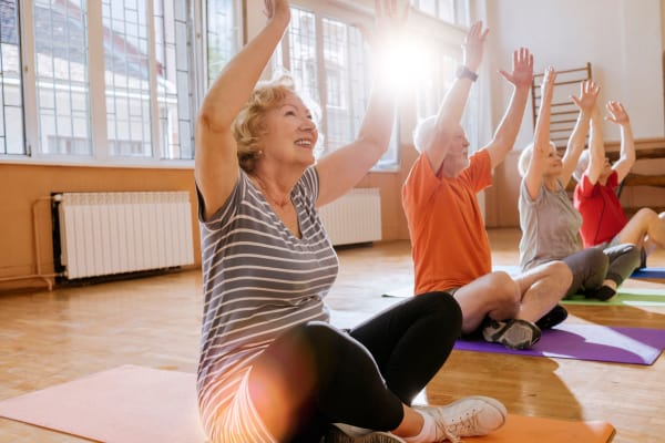Health and wellness classes are available at Harmony Hill in Huntingdon, Tennessee