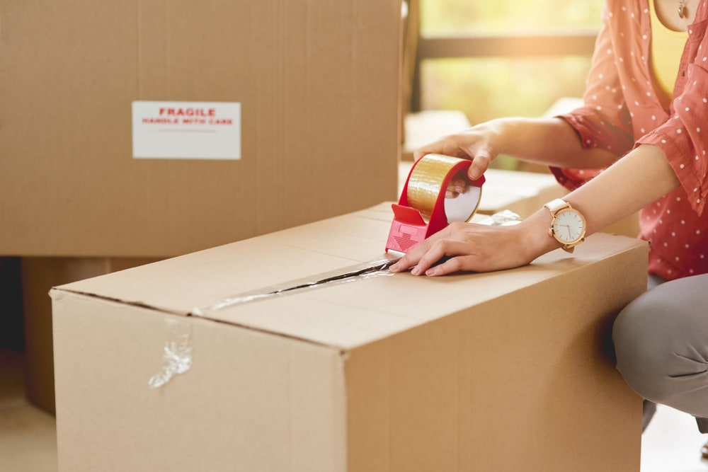 Packing and moving supplies available at A-1 Self Storage in Fountain Valley, California