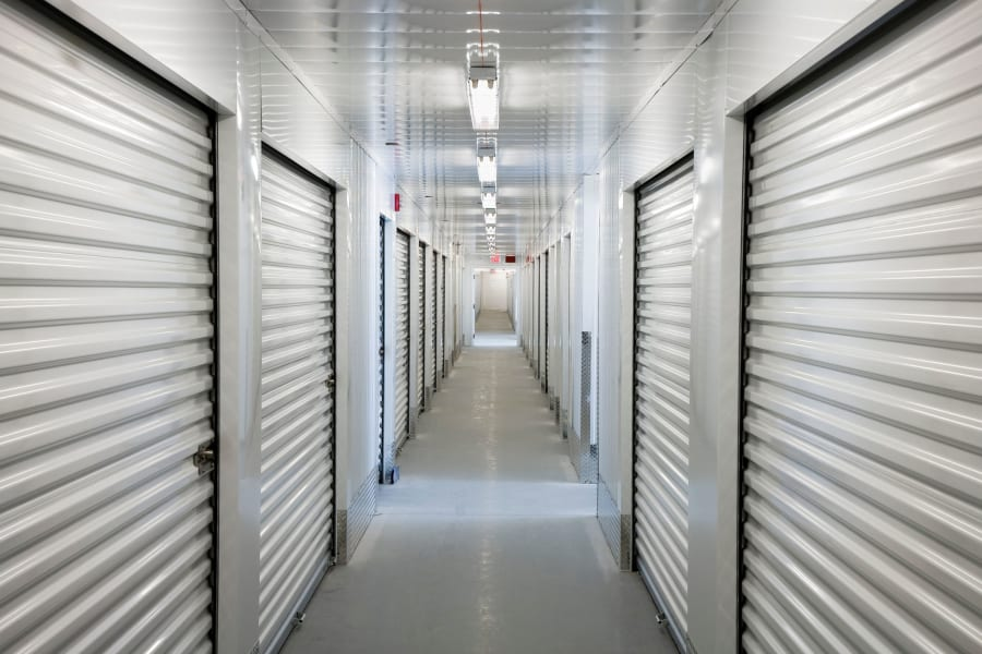 Indoor traditional storage units at 603 Storage in Pittsfield, New Hampshire