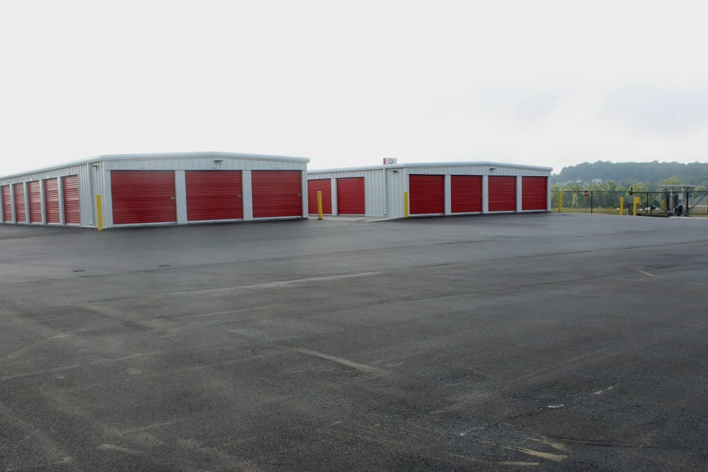 Buildings A and B from Outdoor Parking Space