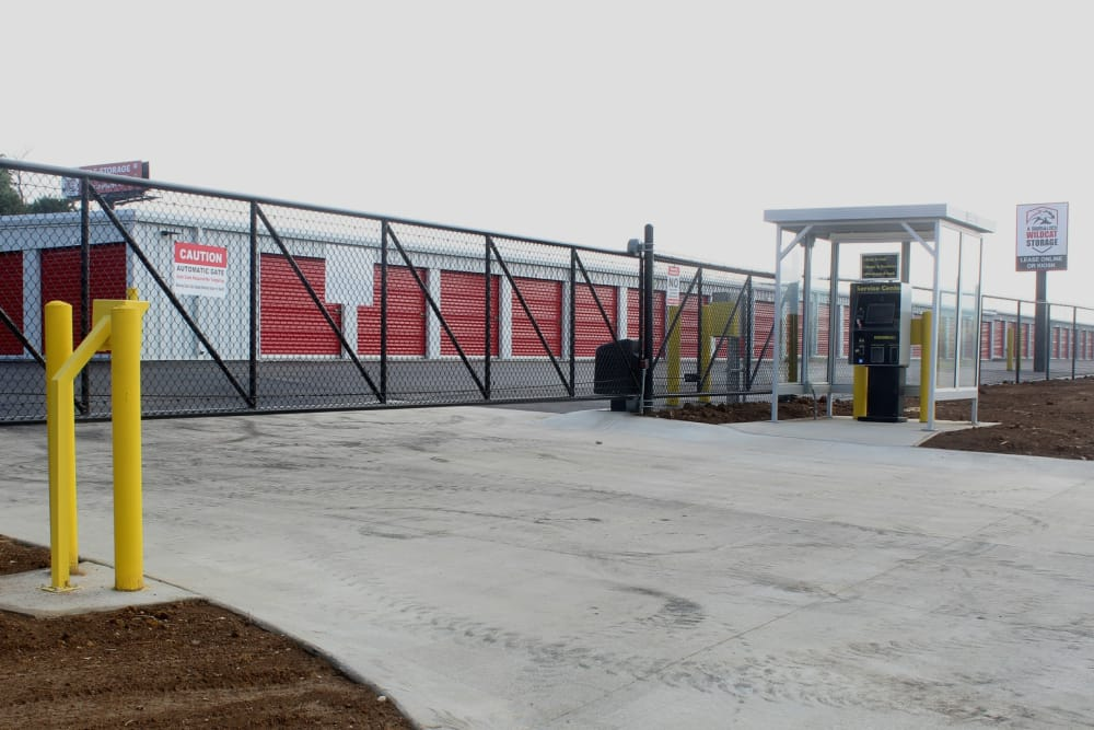 Entrance to facility