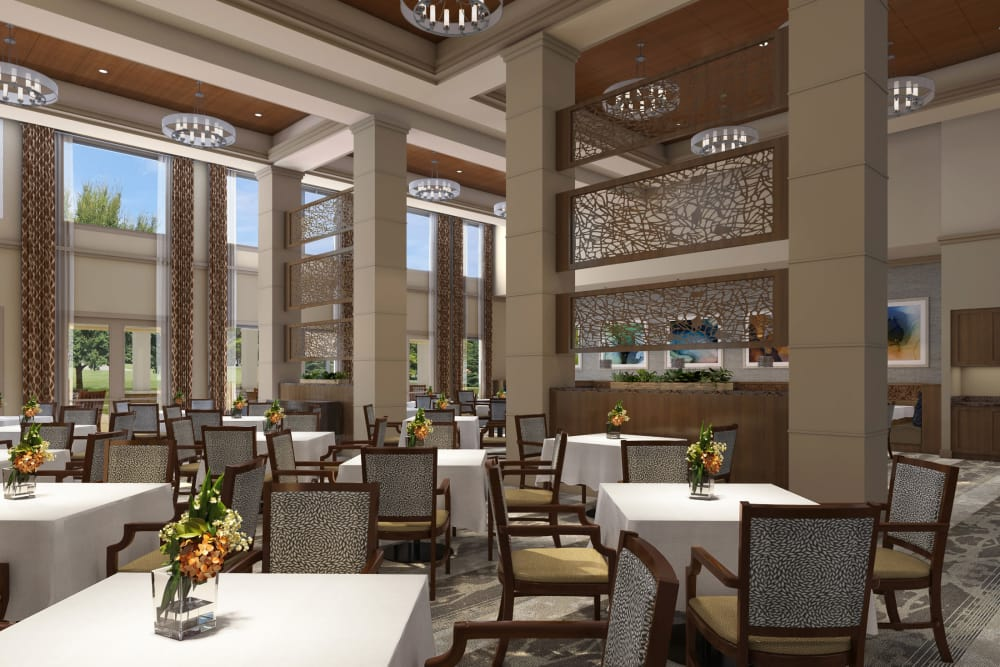 Dining room at Discovery Village At Sandhill
