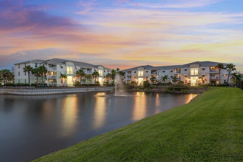 Incredible sunset views from High Ridge Landing in Boynton Beach, Florida