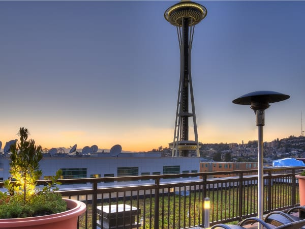 View the neighborhood near The Century in Seattle, Washington