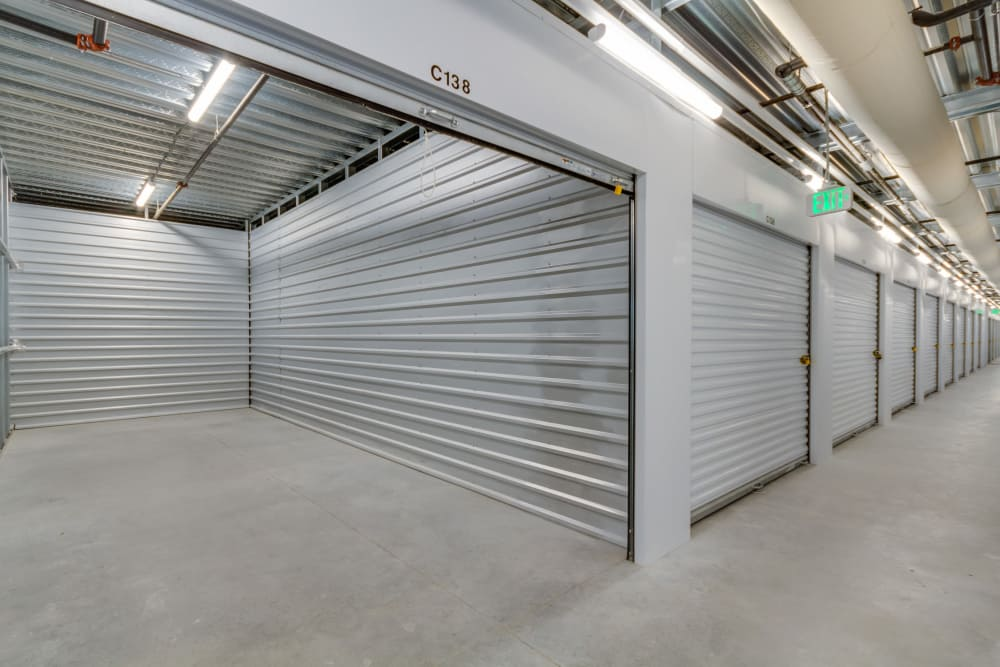 Climate controlled storage at Happy Boxes Self Storage in Richmond